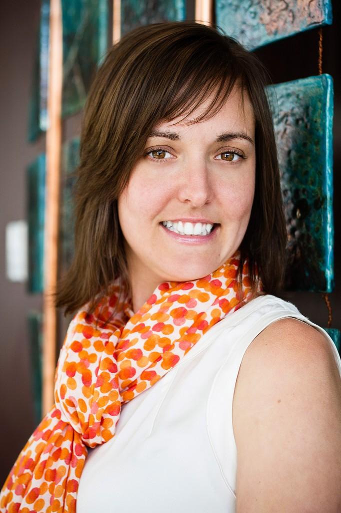 Corporate headshot – Amanda Hachey